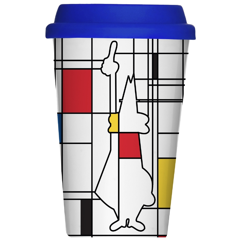 MUG TAKE AWAY MONDRIAN